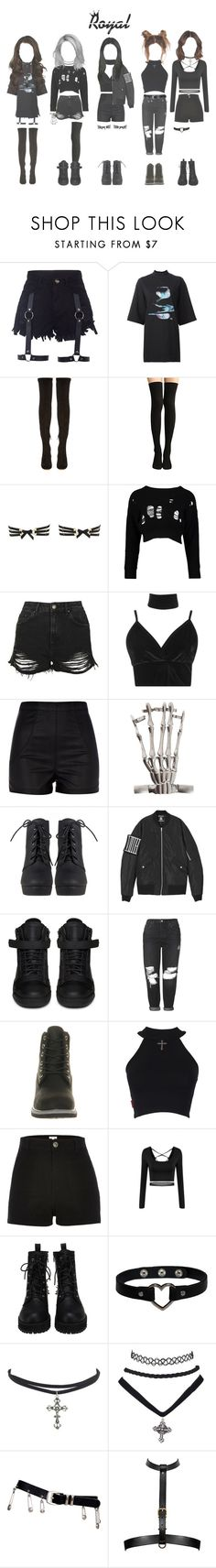 """""""ROYAL Performance"""" by mama-awards ❤ liked on Polyvore featuring Y-3, Nicholas Kirkwood, Bordelle, Boohoo, Topshop, River Island, Giuseppe Zanotti, Timberland and Versace"""