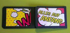 Annes Werkstatt: Klapp-ATC-Buch (Tutorial)