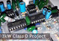 3000 Watts Power Amplifier Class D Mosfet IRFP260 / IRFP4227