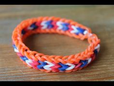 ▶ Rainbow Loom Nederlands, Lacey Zee armband - YouTube