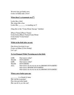 Edina Softball Cheers _ Chants by Softball Tournaments, Softball Pitching, Softball Bows, Softball Coach, Softball Quotes, Fastpitch Softball, Softball Players, Softball Stuff, Golf Quotes