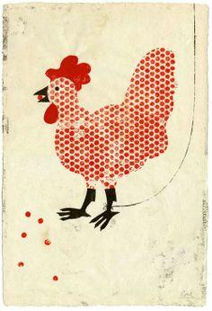 닭beehive chicken