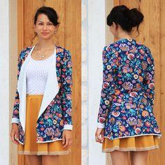 Návod jak ušít dámskou tuniku (+ střih ve velikostech 32-62) - Prošikulky.cz Clothing Patterns, Cover Up, Summer Dresses, Peplum, Sewing, Clothes, Fashion, Tutorials, Outfits