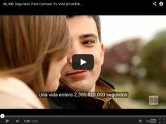 Por un lunes menos duro! #novedad, 86.400 segundos para cambiar tu vida, no la malgastemos! http://estimulando.com/video/422