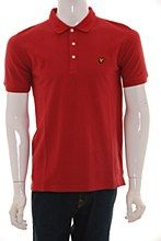 Lyle and Scott Mens Polo Shirt red b_XXL Vintage Regular Fit - Various Size Options