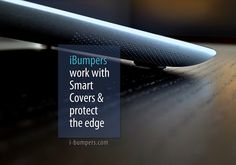 iBumpers are easy to apply to your #iPad and can be removed or repositioned several times without leaving adhesive residue. #tech #geek #apple