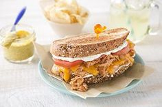 You made it halfway through the week! So take it easy tonight and make these easy, ultimate grilled cheese sandwiches. :)