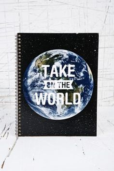 Take On The World Notebook