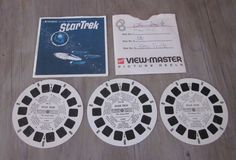 Viewmaster Star Trek reels featuring The Omega Glory episode.
