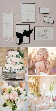 Romantic-themed wedding inspiration!