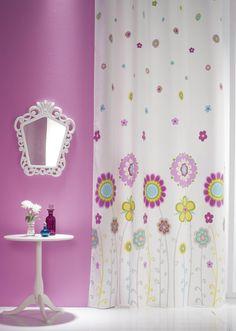 decoracin habitacin chica ideas para un dormitorio juvenil con tejidos de la marca scenes by