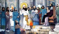 Zoroaster preaching to King Vistaspa