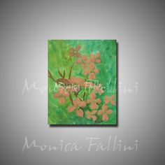 Botanical art daily painting 8x10 inch Dogwood tree flowers by