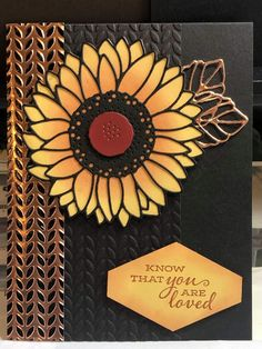Stampin' Up! Sunflower Cards, Poppy Cards, 21 Cards, Hand Stamped Cards, Stampin Up Catalog, Stamping Up Cards, Cards For Friends, Cool Cards, Creative Cards