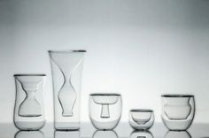 Li-Wai series (full set) double wall borosilicate glass