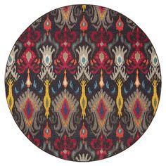 Oriental Weavers Kaleidoscope Abstract Area Rug | AllModern 8' round 650