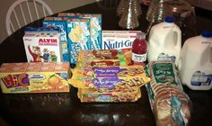 An article on how to feed your family on $50 for a week.  Because every kids needs Hi-C, Cookies, Rice Crispy Treats, White Bread, and Vitamin Water all the time.   She could save a pantload of money by just cutting that crap out.
