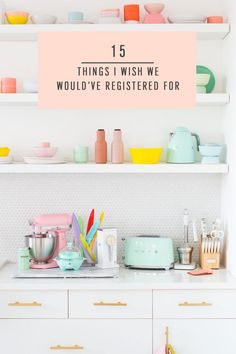 Things I Wish We Would've Registered For by top Houston lifestyle blogger Ashley Rose of Sugar & Cloth  #weddingregisrty #kitchen #musthaves #registryitems #whattoregisterfor