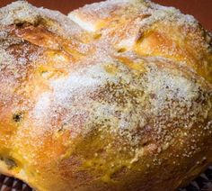 Pinca - similar to a large Hot Cross Bun. Made during Easter in Eastern European Countries...