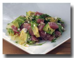 Tuna Tartare: a nice variation to my favorite dish e-v-e-r!.