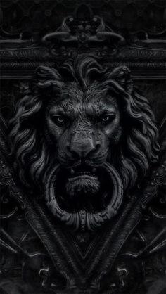 Lion Door Knocker.......