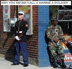 Hahaha if your son is a Marine you'll get this.   Mine isn't yet, but I totally get it.