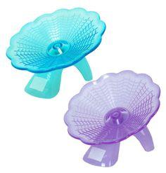 Flying-saucer-exercise-wheel-hamster-gerbil-cage-toy-medium-spinner
