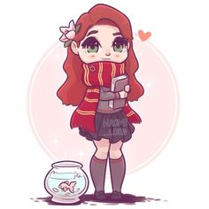 ✨Kawaii Lily Evans!✨ with Francis :3