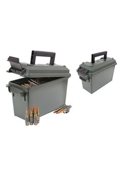 Ultra Force 30 Cal Plastic-Olive Drab Ammo Can   Buy Now at camouflage.ca