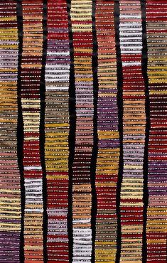 Find Aboriginal Art by Adam Reid x in the Art, Aboriginal, Paintin. Aboriginal Patterns, Aboriginal Painting, Aboriginal Artists, Dot Painting, Encaustic Painting, Kunst Der Aborigines, Motifs Textiles, Arte Tribal, Wow Art