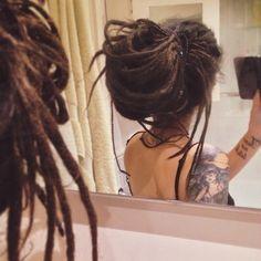 tattoos plugs piercings jewelry hair fashion