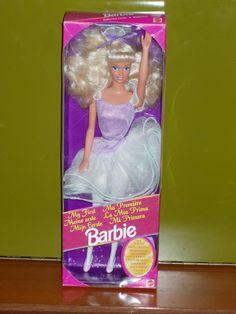 barbie my first ballerina 1992
