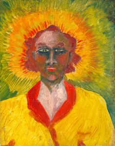 """lobisfemme: """"Aleister Crowley's paintings. """""""