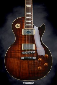 Gibson Les Paul Standard Premium in Desert Burst on a Figured Koa top
