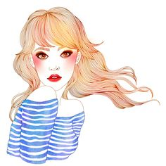 Oh! Hajin Bae #fashion illustration