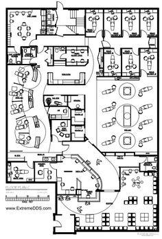 60 best floor plans images on pinterest dental office design
