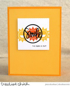 Created by Jenn using the June 2015 card kit by Simon Says Stamp.