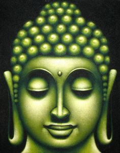 buddha face painting - Google Search