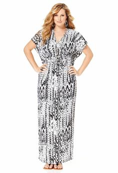 Plus Size Maxi Dresses | High Fashion Update
