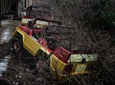 Abandoned Six Flags by darrellrhodesmiller, via Flickr