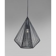 H&H: Modo Wire Pendant Lamp Ceiling Light - H&H: from Hurn & Hurn UK