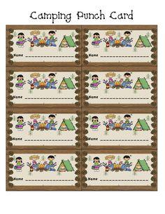 punch cards as behavior reward   http://www.jbonzer.com/CampingPunchCardbyjudybonzer.JPEG