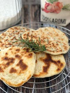 Flatbread: ricetta del pane in padella (2 ingredienti in 5 minuti) - BabyGreen