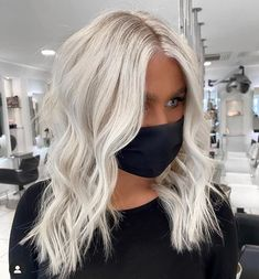 Ice Blonde Hair, Platinum Blonde Hair Color, Silver Blonde Hair, Blonde Hair Looks, Purple Hair, Platnium Blonde Hair, Bleach Blonde Hair, Icy Blonde, Gray Hair