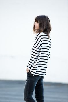 """fashionfanclub: """"Stripes """""""