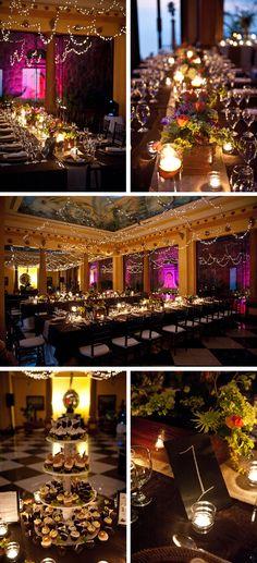 Small wedding reception