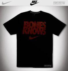 Jon Jones Nike Bones Knows Shirt