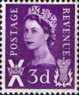 Scotland 1967 Queen Elizabeth II SG  Scott 7 Fine Used Other Regional Postage Stamps HERE