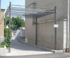 guyon mobilier urbain pergolas en métal Pergola Metal, Design, Gardens, Street Furniture