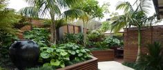 Get suggestions for having fun a stunning Tropical Garden, landscape, or lawn. Our specialists show you everything necessary to actually tropical gardens backyard Small Tropical Gardens, Tropical Garden Design, Tropical Landscaping, Garden Landscape Design, Tropical Plants, Garden Landscaping, Landscaping Ideas, Pergola Ideas, Landscape Designs